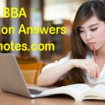 BBA 3rd Year Responsibilities and Tasks of Top Management Long Question Answer