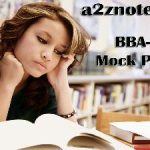 BBA Strategic Management and Business Policy Sample Model Mock Test Paper 1