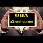MBA Ist Semester Management Concepts And Applications Short Questions Answers