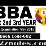 BBA Strategic Management and Business Policy June 2016 Solved Question Paper With Answers