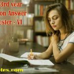 BBA 3rd Year Corporate Strategy Short Questions Answer