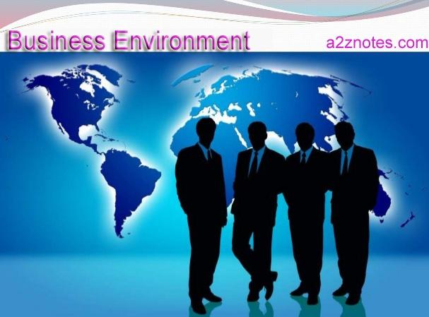 Business Environment Semester 2