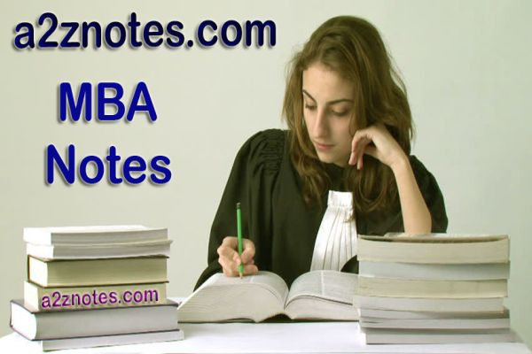 MBA 1st Semester Applications Very Short Question Answer Study Notes
