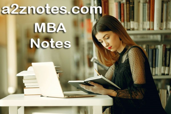 Correlation Analysis Notes For MBA 1st Year Semester Very Short Question Answer