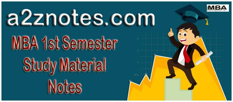 Time Series Analysis MBA 1st Year Semester Very Short Question Answer Notes