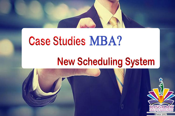 MBA 1st Year New Scheduling System Case Study 1 Questions With Answers