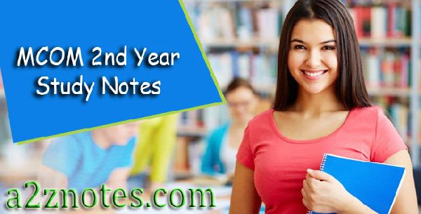 Mcom 2nd Year International Channel Of Distribution Study Material Notes