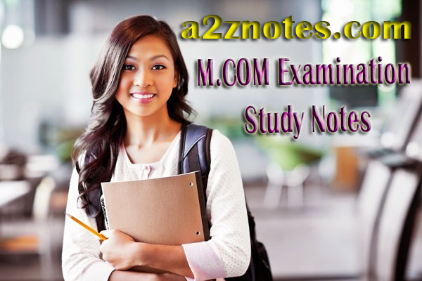 M.COM Examination  Advertising And Sales Management Practise Paper Notes Question Answer
