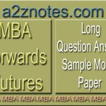 MBA Forwards Futures Long Question Answer Sample Paper