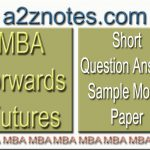 MBA Forwards Futures Short Question Model Paper
