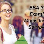 BBA 3rd Year 604 International Trade Examination Sample Model Mock Test Paper III